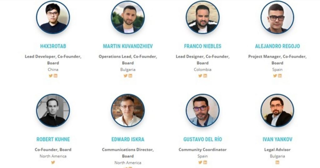 Bitcoin Gold Founders Team