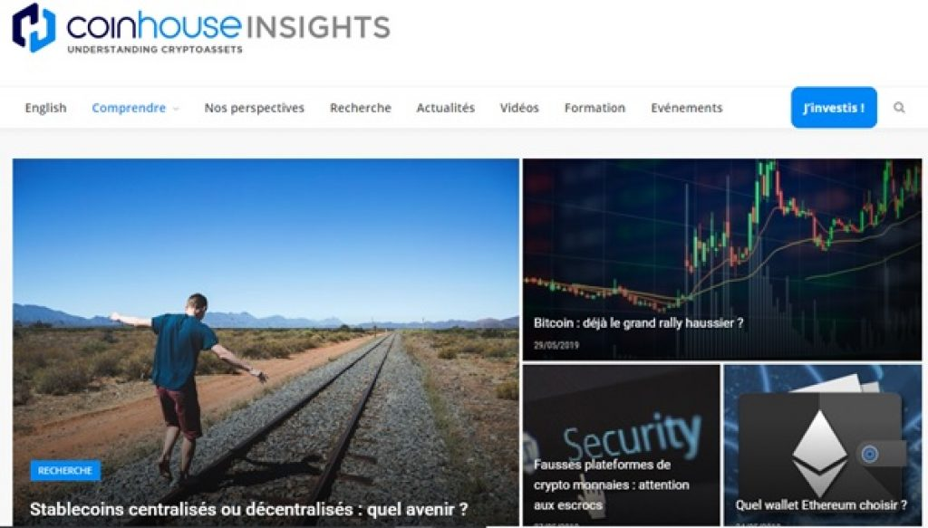 Coinhouse - Insights