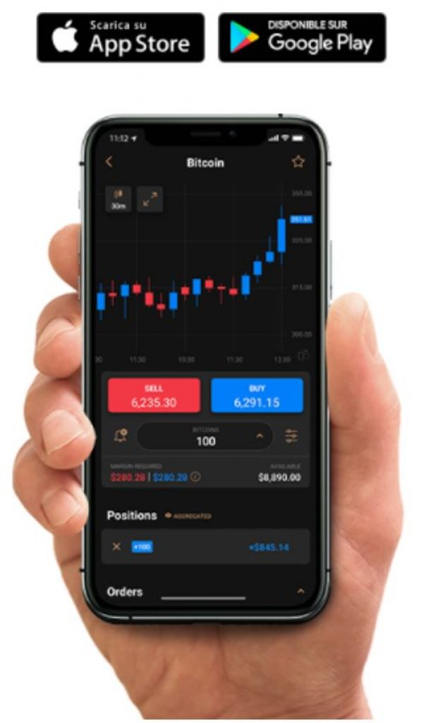 Capital.com - Plateforme Mobile