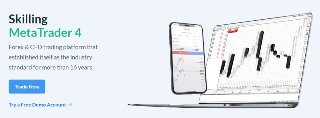 Skilling Plateforme de Trading