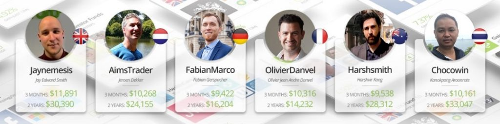 eToro - Popular investors