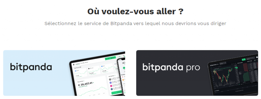BitPanda - Plateforme Trading