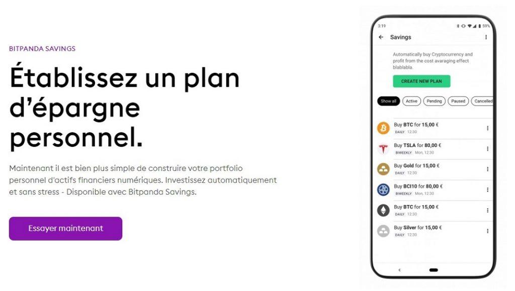 BitPanda Savings