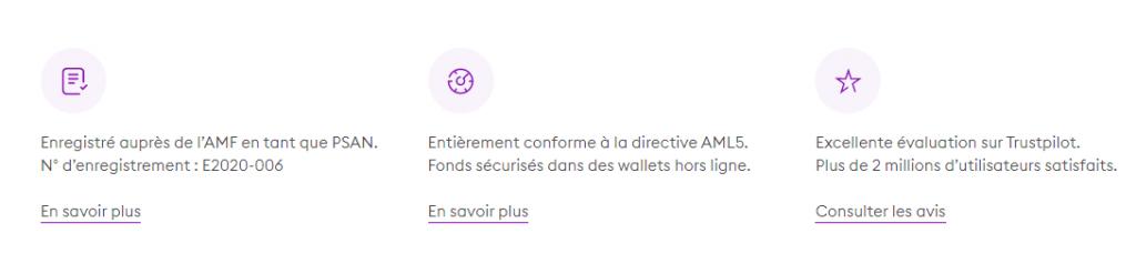 BitPanda - Sécurité