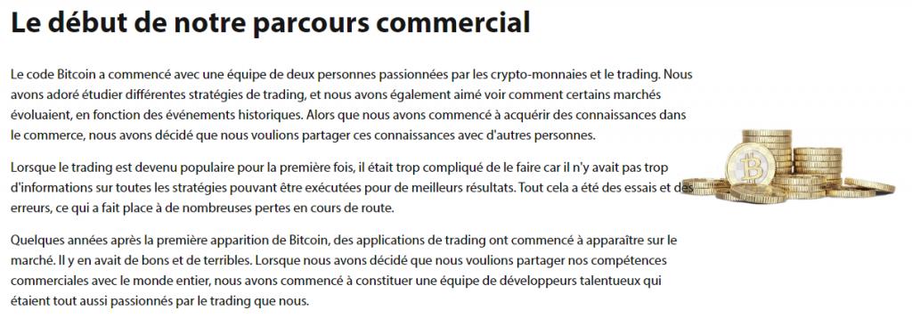 Bitcoin Code - Réglementation