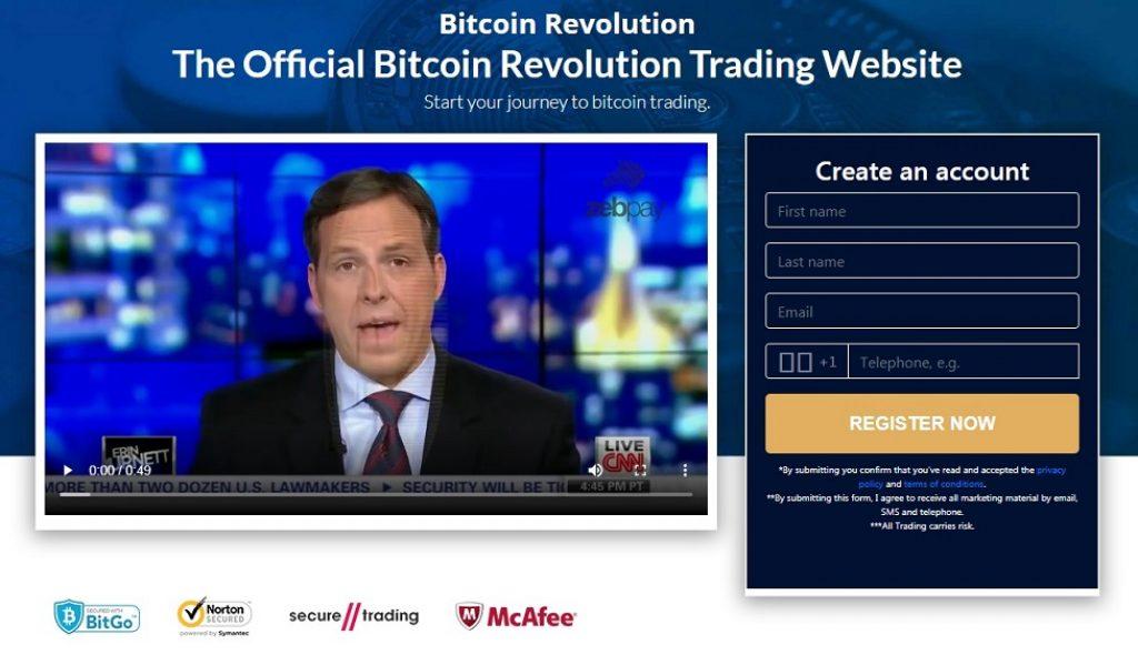 Bitcoin Revolution - Formulaire d'inscription