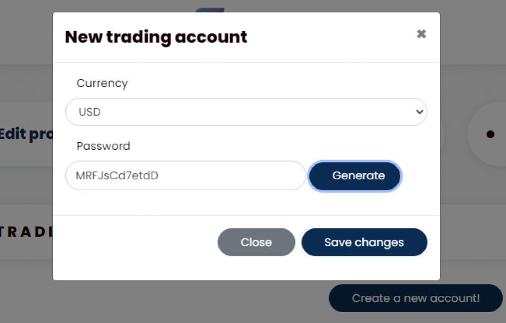 Bitcoin Revolution - Nouveau compte