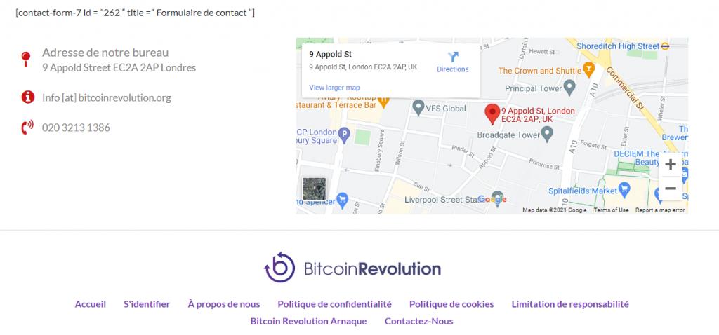 Bitcoin Revolution - Support client
